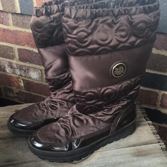 COACH Drexel Boots